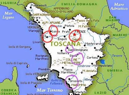 Viaje por la Toscana 1ª parte: Pisa, Lucca y Florencia