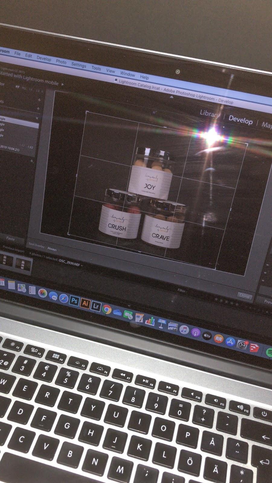 Adoben Lightroom kuvanmuokkauksessa