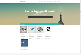 Couponism Responsive Blogger Template Free