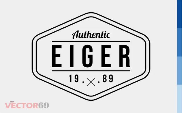 Eiger 1989 Logo - Download Vector File EPS (Encapsulated PostScript)