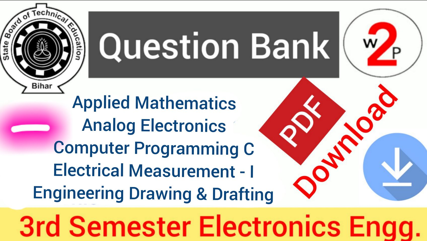 Electronics 3rd Sem Question papers