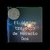 El último trayecto de Horacio Dos | Adaptación de una novela de Eduardo Mendoza