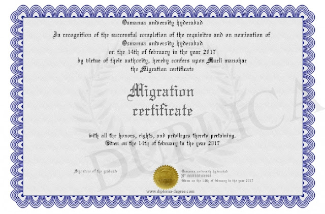 All About Migration Certificate: Do You Know?