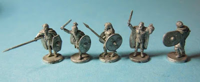 Germanic Foot Warrior Command from Van Dyck Models