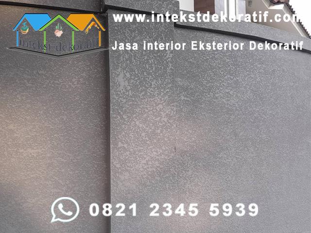 Harga Borongan Cat Tekstur Dinding Dekoratif