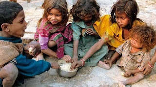 4- India reached 102nd out of 117 countries in terms of starvation