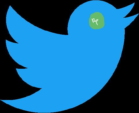Burung Biru Bermata Hijau