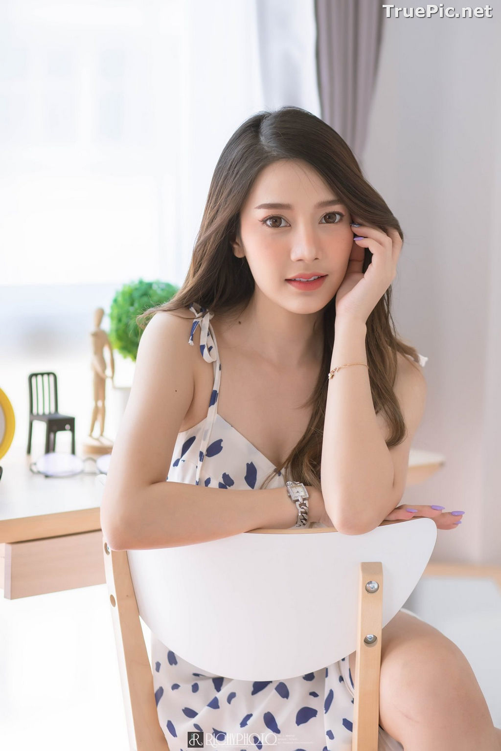 Image Thailand Model - Sasipa Tungmay Jibkrapong - Weekend Morning Dress - TruePic.net - Picture-4