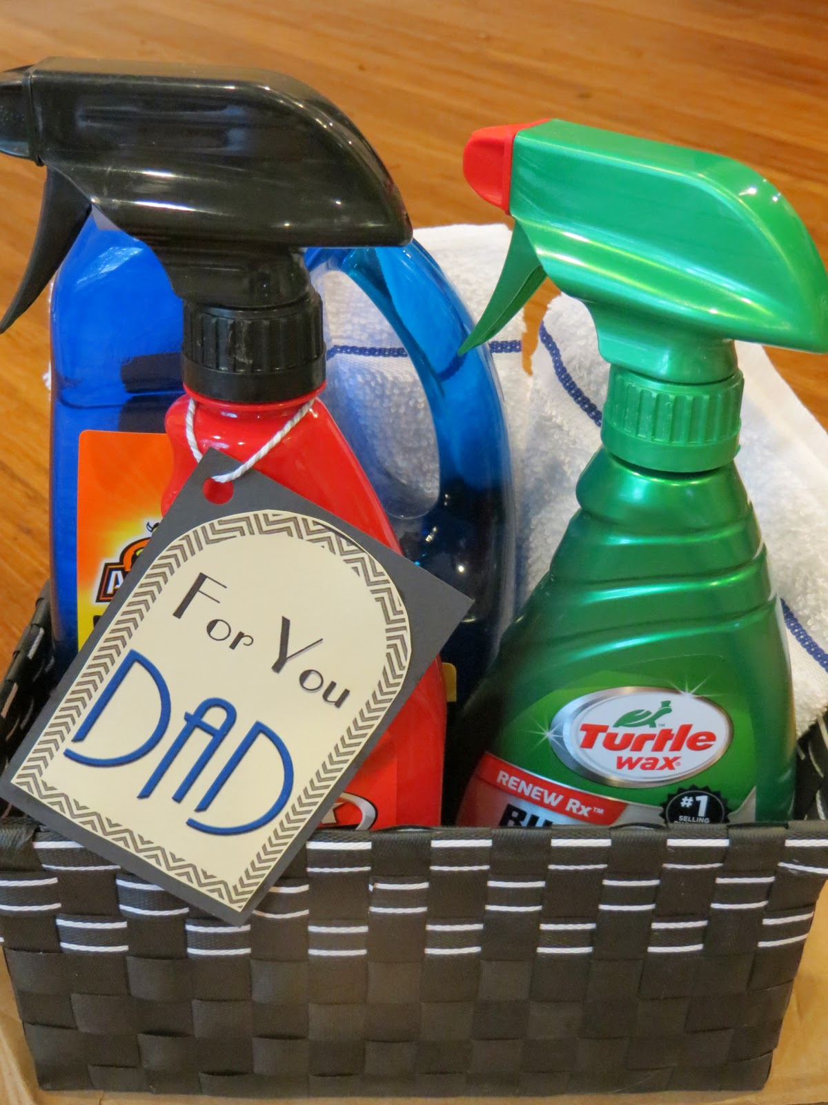 car wash gift basket