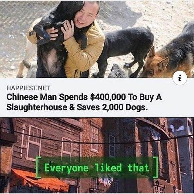 What a good man