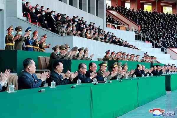dprk fanfares resumption of mass sports
