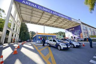 São Bernardo reforça policiamento com nova base da GCM na Arena Olímpica