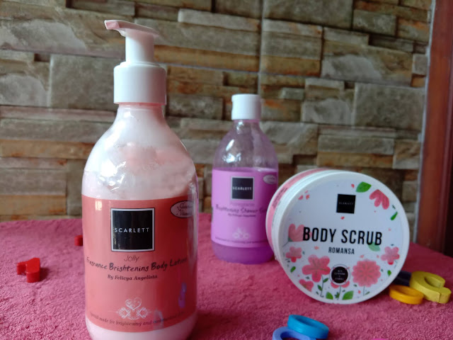 Fragrance Brightening lotion