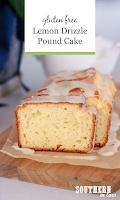 Gluten Free Lemon Drizzle Pound Cake Recipe