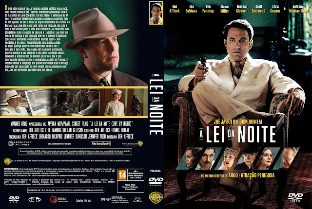 Capa DVD A Lei Da Noite [Exclusiva]
