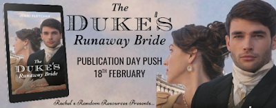 The Duke's Runaway Bride by Jenni Fletcher publication push