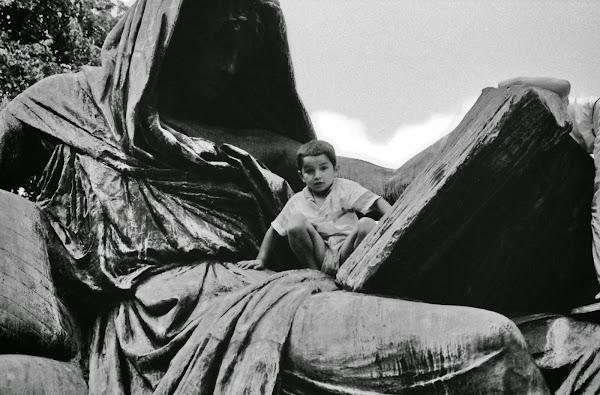Berlin, Bismarck, Sybille, Tiergarten, © L. Gigout, 1990