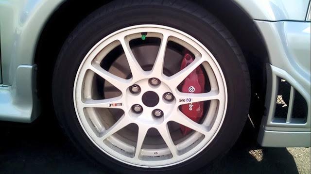 velg Mitsubishi Lancer Evolution IV Tommi Makinen Edition