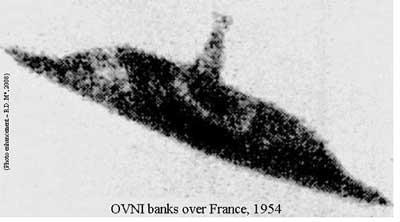 frança investigou o avistamento de objectos voadores não identificados