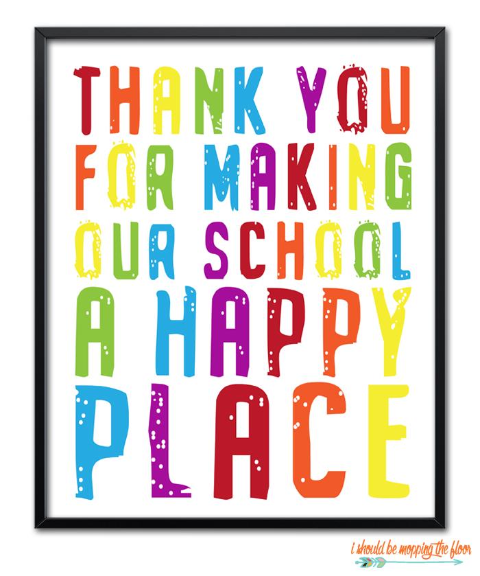 Rainbow School Printables