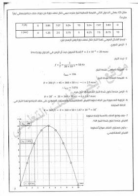 نظرى الفيزياء والرسوم البيانية للثانوية العامة: فيزياء