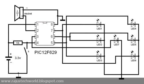 how to make led circuit board earrings 6