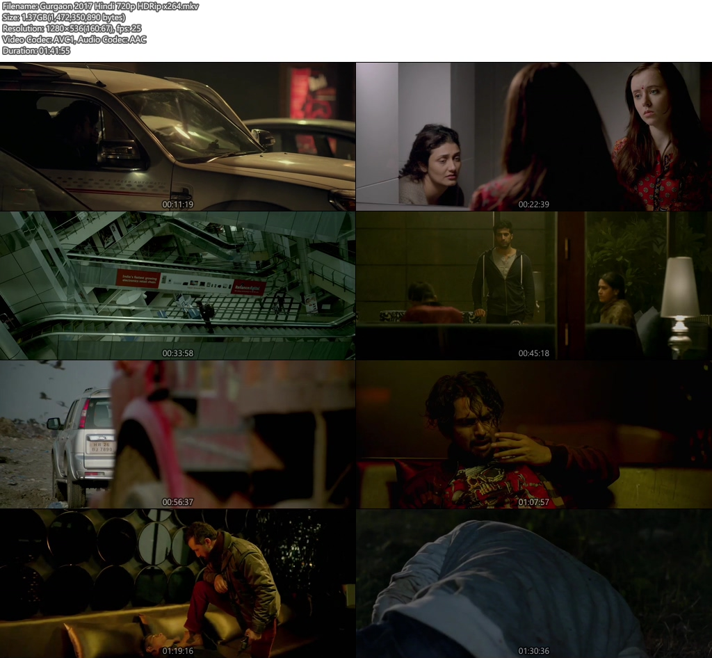 Gurgaon 2017 Hindi 720p HDRip | 400MB 480p | 100MB HEVC Screenshot