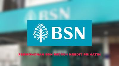 Permohonan BSN Micro-i Kredit Prihatin 2020 (Semakan Status)