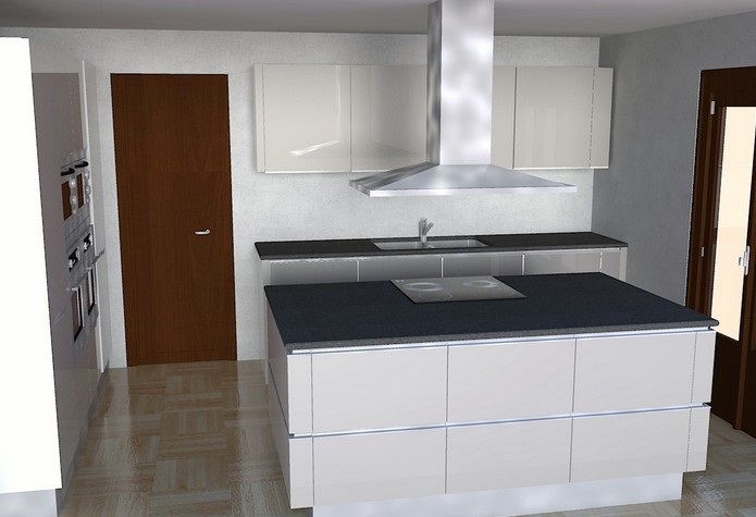 Furniture Interior Design: Snaidero idea of large Kitchen
