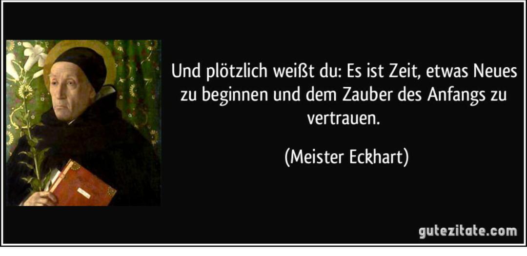 Meister Eckhart Zitate