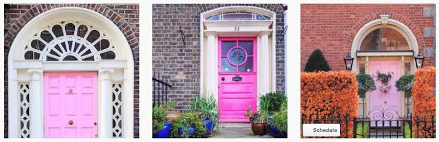 Doors of Dublin Treasure Hunt: #FindDublinDoors_pink