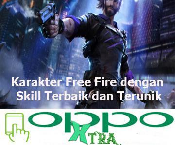 Karakter Free Fire dengan Skill Terbaik dan Terunik