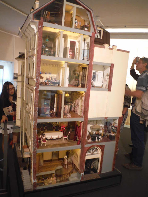 Dollhouse museum exhibit at the Peter and Paul Fortress