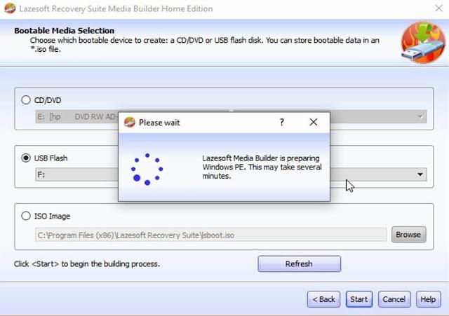برنامج ازالة كلمة المرور ويندوز 10 عن طريق usb