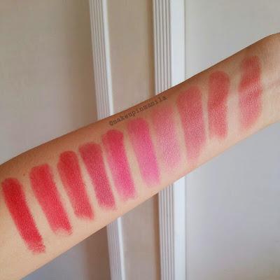 Sophie Paris Lipstick Review Swatch