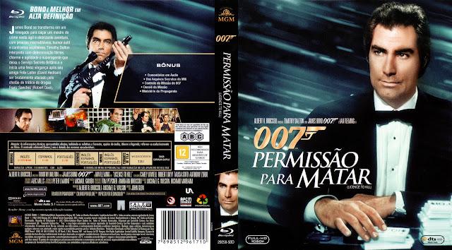 Capa Blu-ray Permissão Para Matar