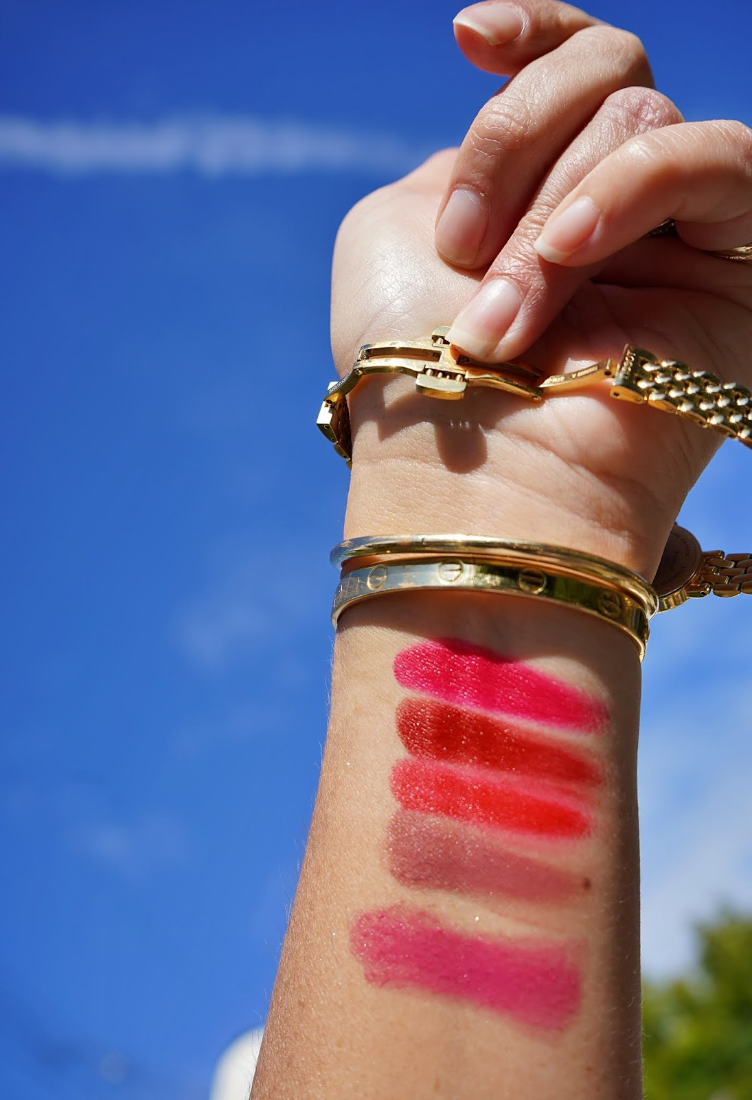 Hermes Satin Lipstick in Rose Zinzolin swatch