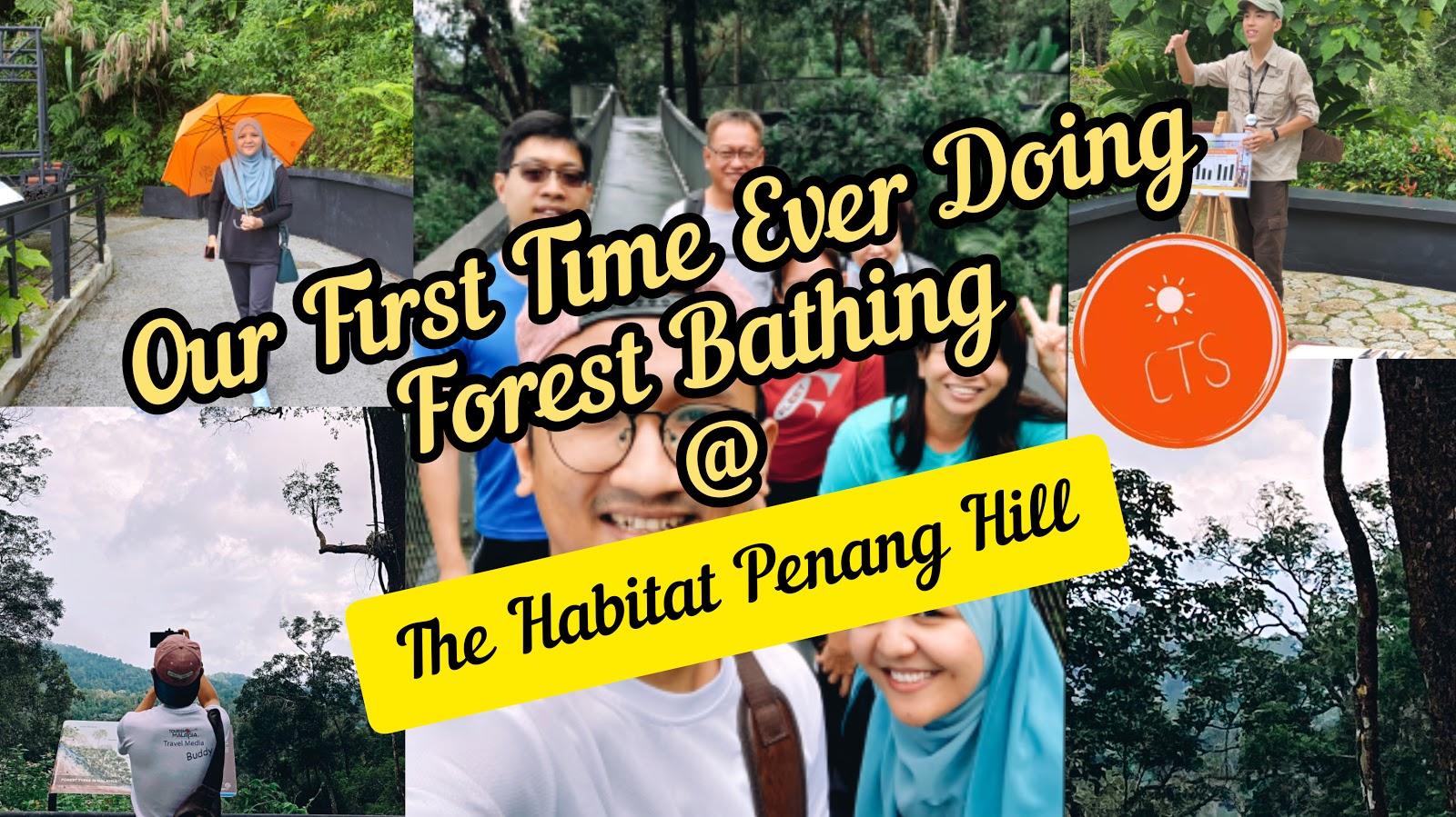 Pengalaman Pertama Kali Kami Mencuba FOREST BATHING (Shinrin-Yoku) Di The Habitat Penang Hill!