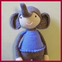 Elefante Ellie amigurumi