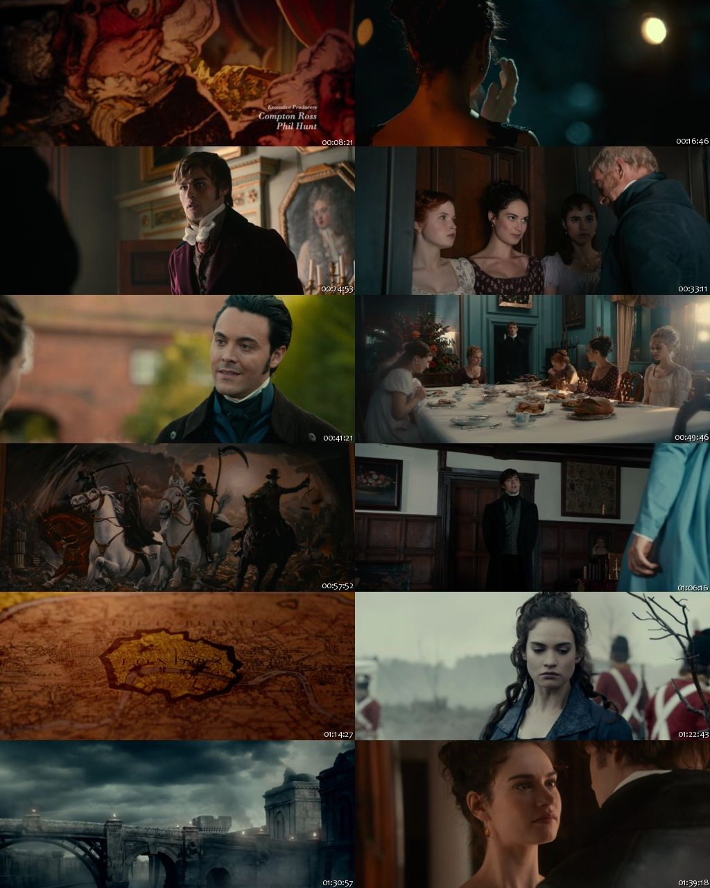 Pride And Prejudice And Zombies 2016 BRRip 720p