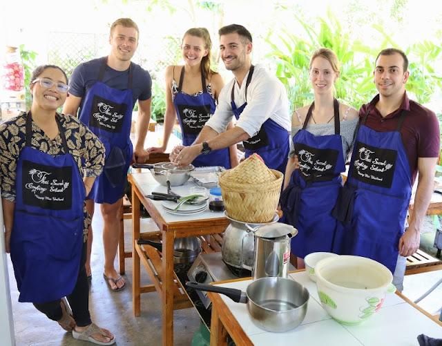 Thai Cooking Class Chiang Mai Thailand