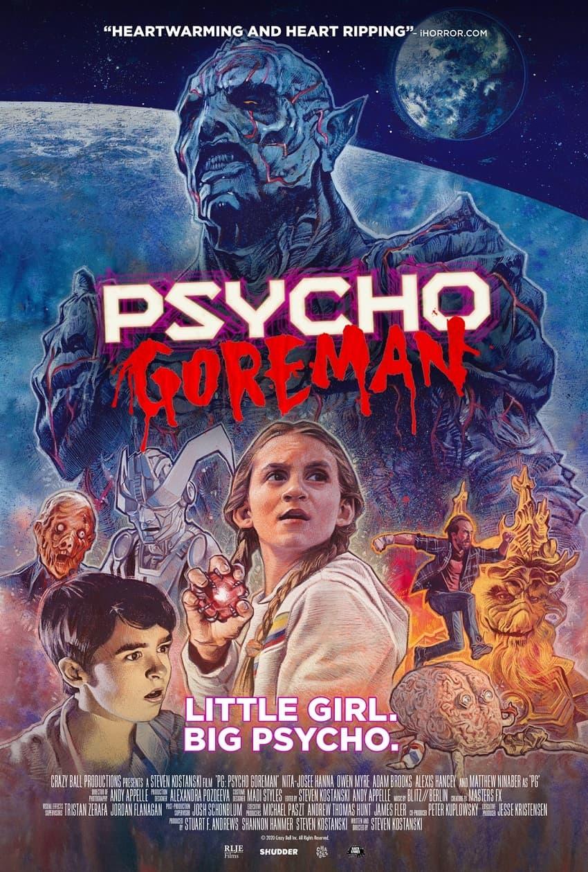 Вышел финальный трейлер комедийного фантастического хоррора Psycho Goreman - Постер