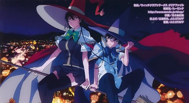 Anime Magic School Romance Terbaik - Witch Craft Works