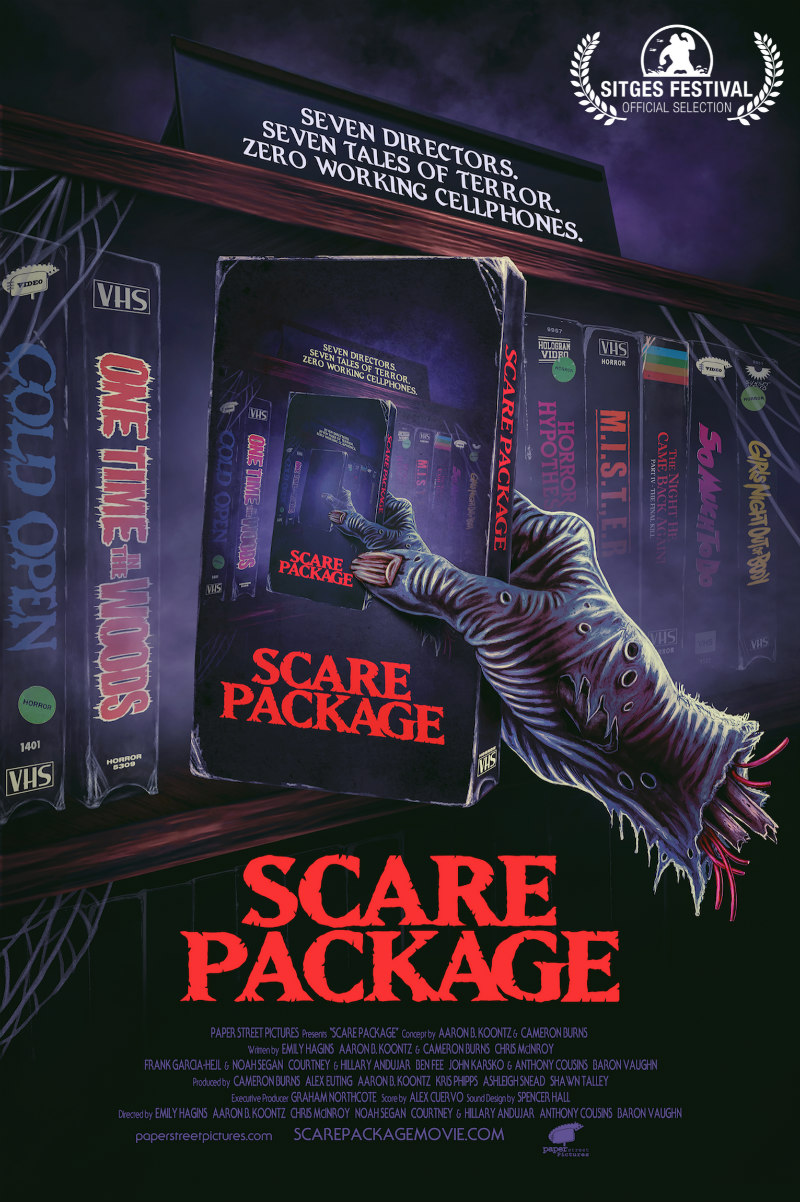 scare package shudder poster