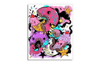 Save The Munchkins Screen Print by Elloo x Galerie F