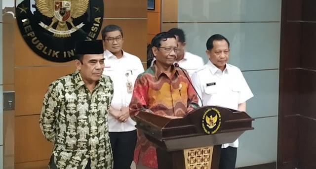 Menag: FPI Sudah Buat Pernyataan Setia Pancasila-Tak Langgar Hukum
