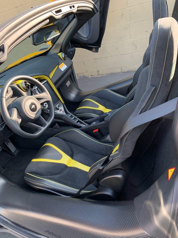 McLaren 720S Spider màu vàng chính thức thông quan với hàng loạt tùy chọn đắt tiền - Ảnh 4.