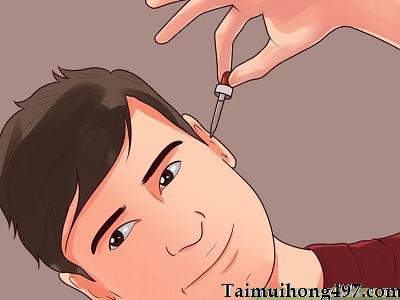 Cách vệ sinh tai lúc đang bị viêm tai giữa