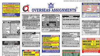 Assignments Abroad Jobs~29 May