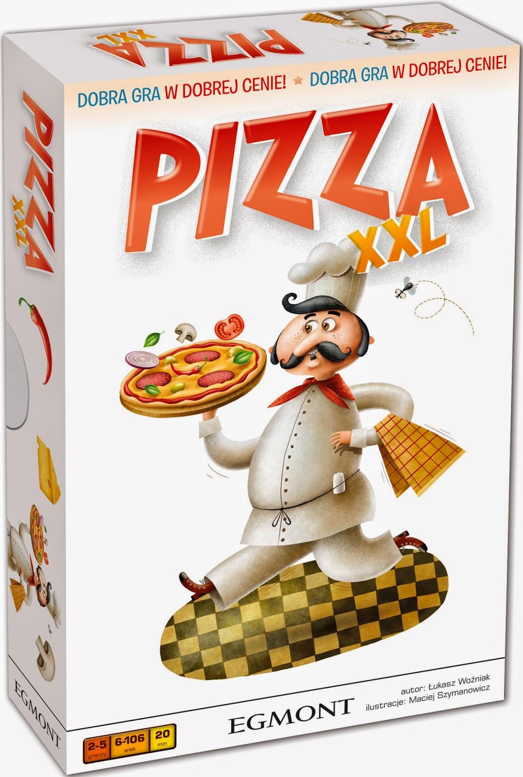 """Łukasz Woźniak, """"Pizza XXL"""""""